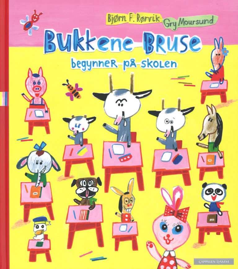 Skolestart for Bukkene Bruse