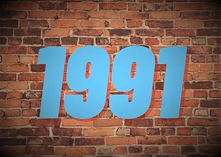 1991 – Året som rocket ved rocken
