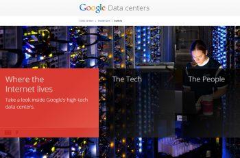 Ta en nærmere kikk på Googles datasentre.