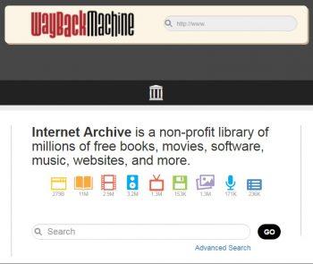 Nytt fra Internet Archive