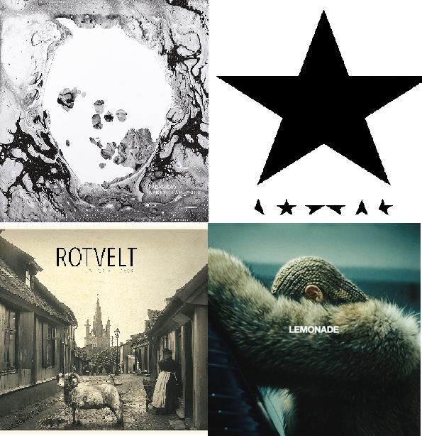 Musikkbloggredaksjonens favorittplater 2016
