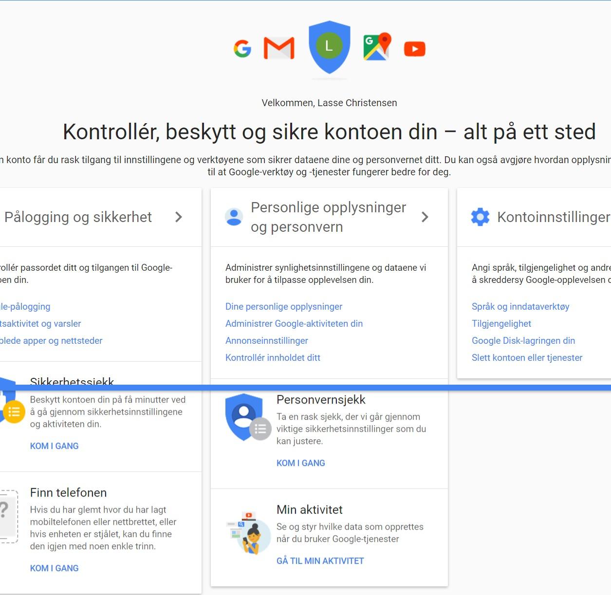 Hva vet Google om deg?