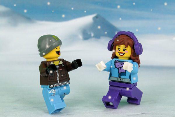 Bygg LEGO i vinterferien @ Bærum bibliotek Sandvika