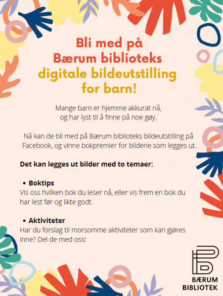 Digital bildeutstilling for barn