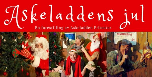 Juleforestilling: Askeladdens jul @ Bærum bibliotek Bekkestua