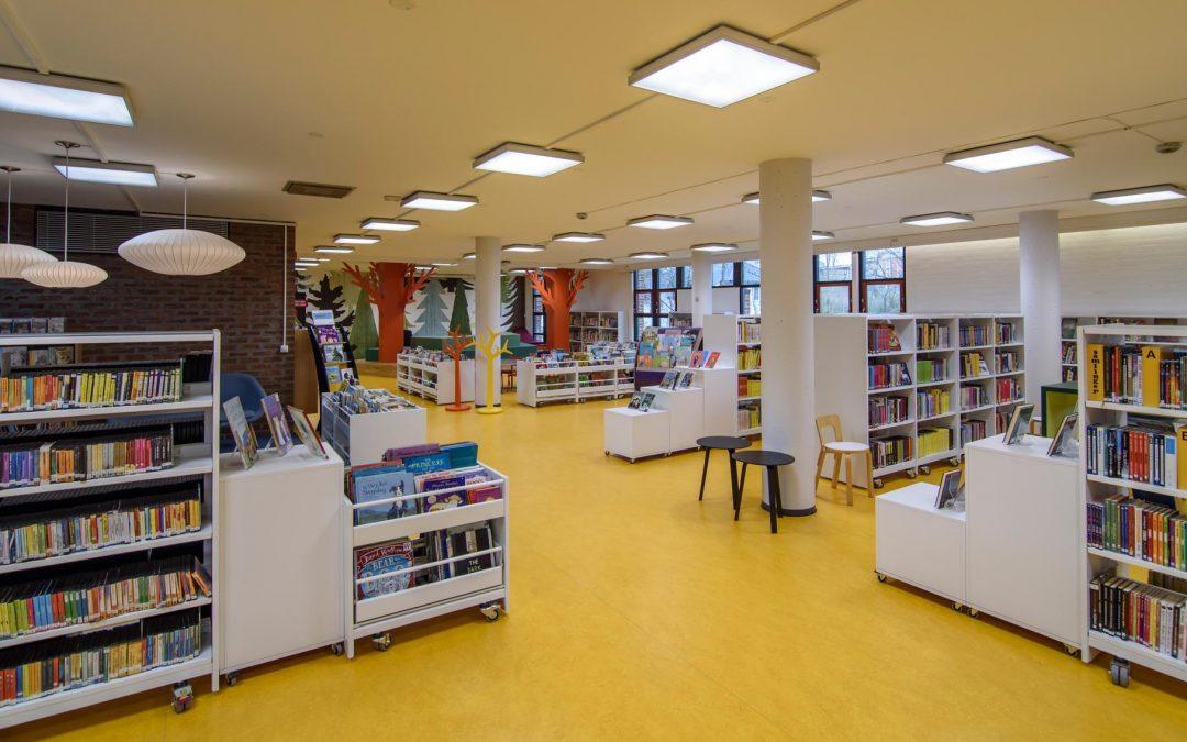 Bibliotekene åpner igjen mandag 26. april kl. 12