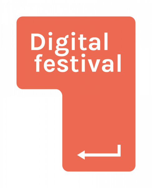 Digital festival logo
