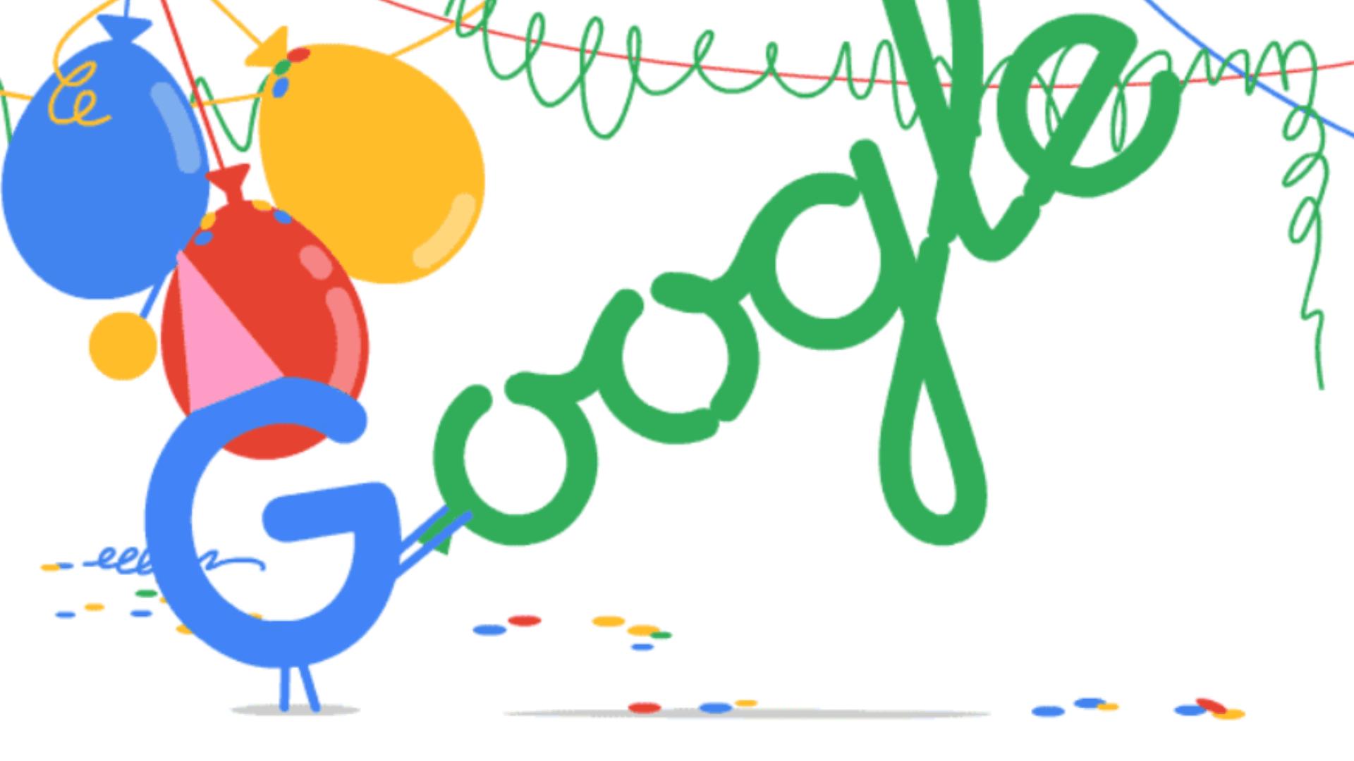 Google feirer 20-års jubileum!