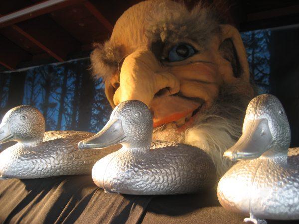 Askeladden som stjal sølvendene til trollet - med Askeladden friteater @ Bærum bibliotek Høvik