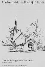 Haslum kirke 800 år