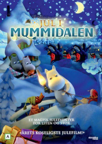 Lørdagskino: Jul i Mummidalen @ Bærum bibliotek Rykkinn