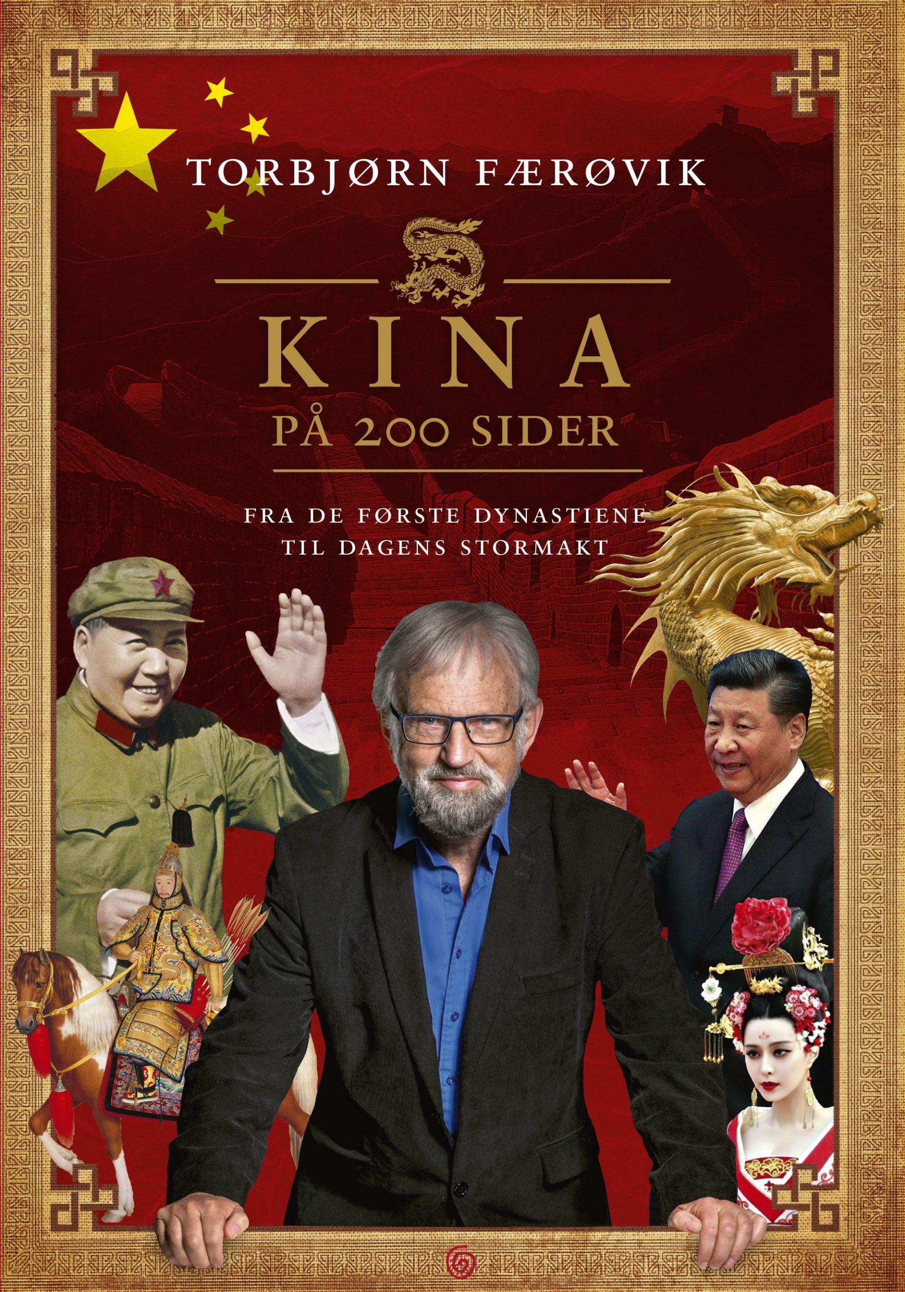 Omslagsbilde Kina på 200 sider