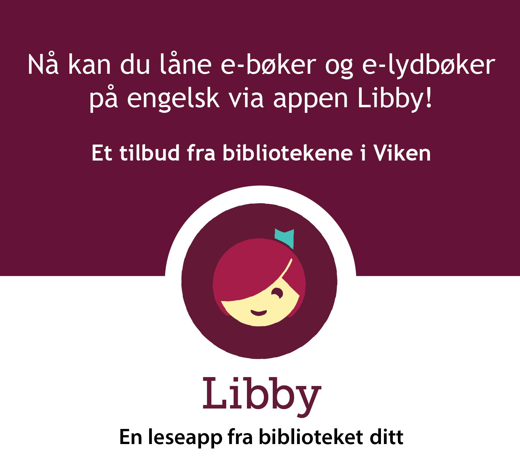 Libby - engelske e-bøker og e-lydbøker