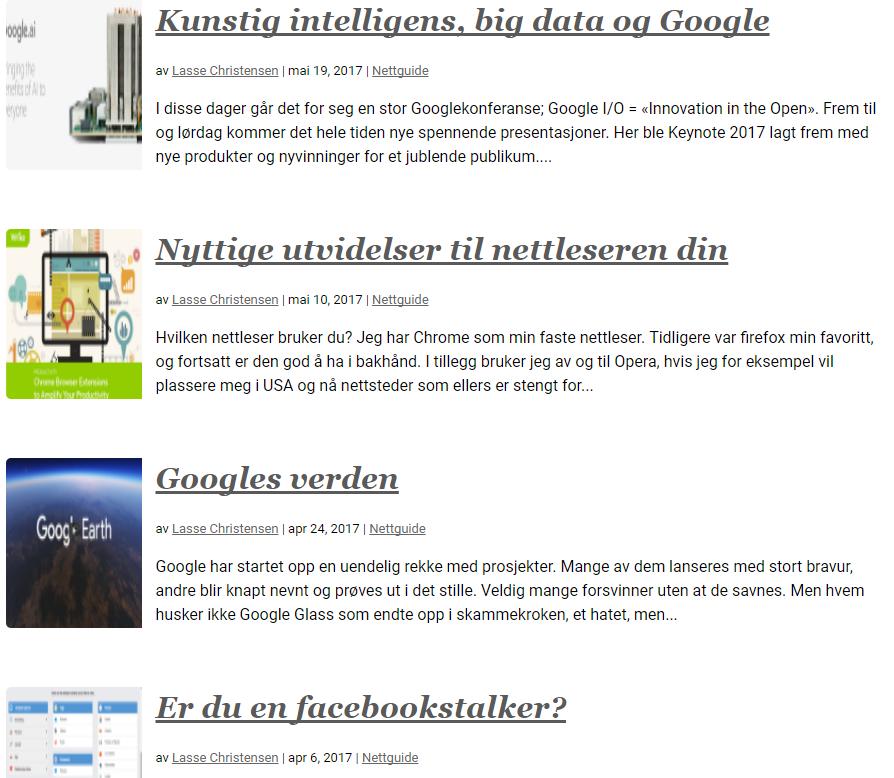 Spennende og nyttig om offentlig informasjon og internett