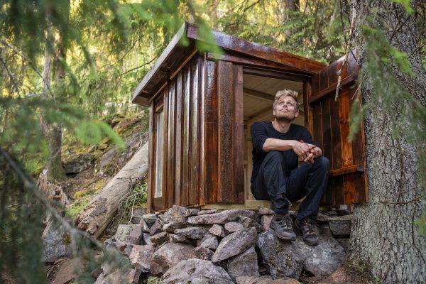 """Foredrag: """"Hemmelige hytter"""" med Marius Nergård Pettersen @ Bærum bibliotek Bekkestua"""
