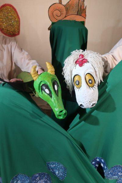 Barneteater: Ruffen og det store eggrøveriet @ Bærum bibliotek Bekkestua