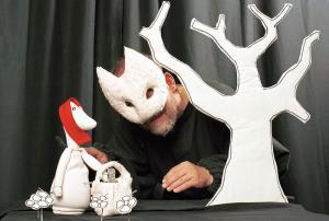 Rødhette og ulven @ Bærum bibliotek Rykkinn