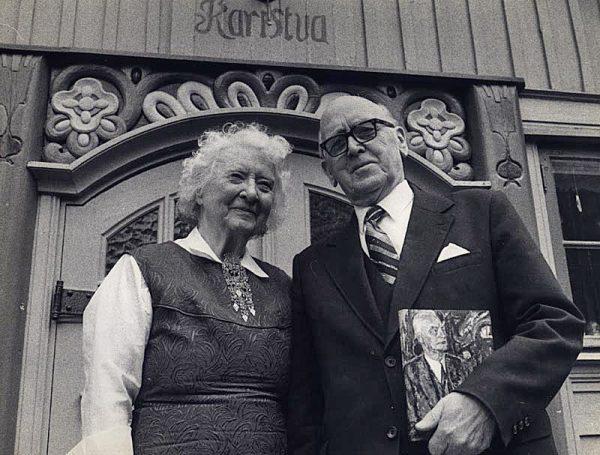 Sigmund og Åse Gruda Skard