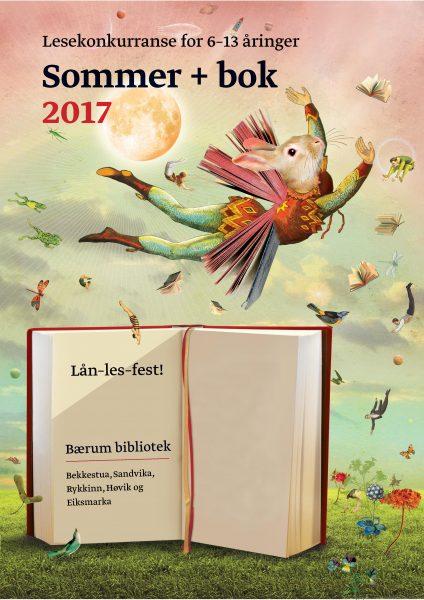FOR BARN: Bli med på sommerens lesekampanjer! @ Bærum bibliotek