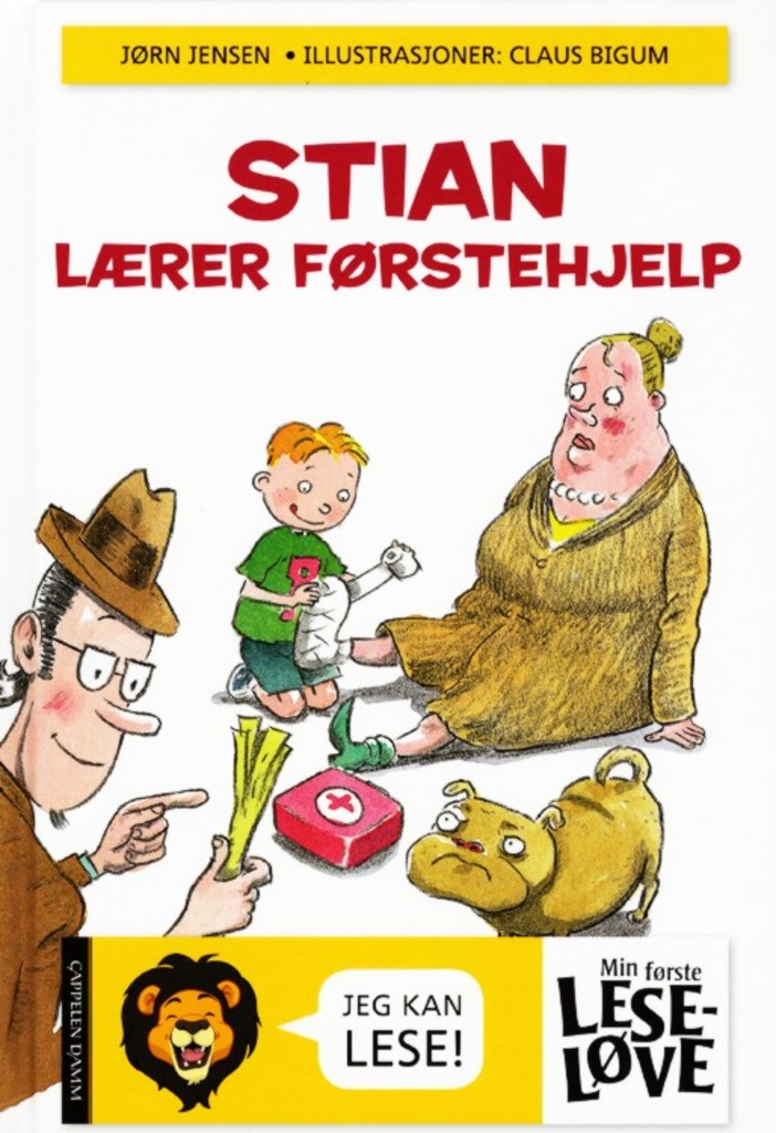 Morsom bok for ferske lesere