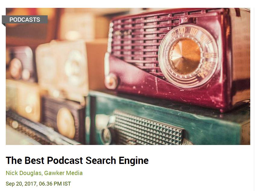 Podcast og Listen Notes