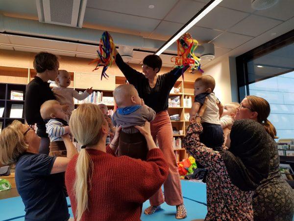 Babydans på Bekkestua @ Bærum bibliotek, Bekkestua