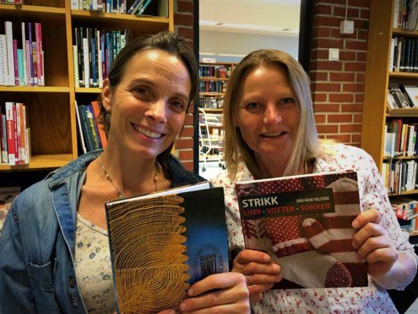 Strikk og lyrikk - med Nini Karine og Anne Katrine @ Bærum bibliotek Høvik