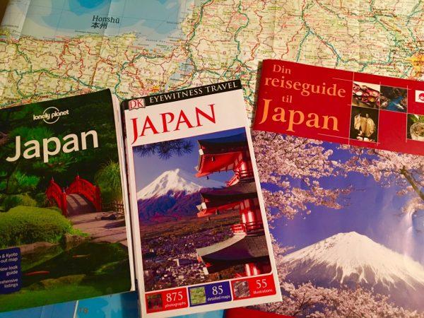 Om å reise i Japan. @ Bærum bibliotek Høvik