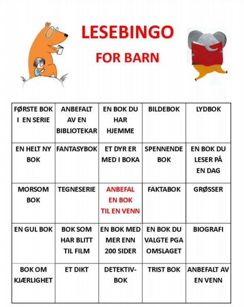Lesekampanjer for barn
