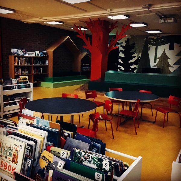 Natt på biblioteket