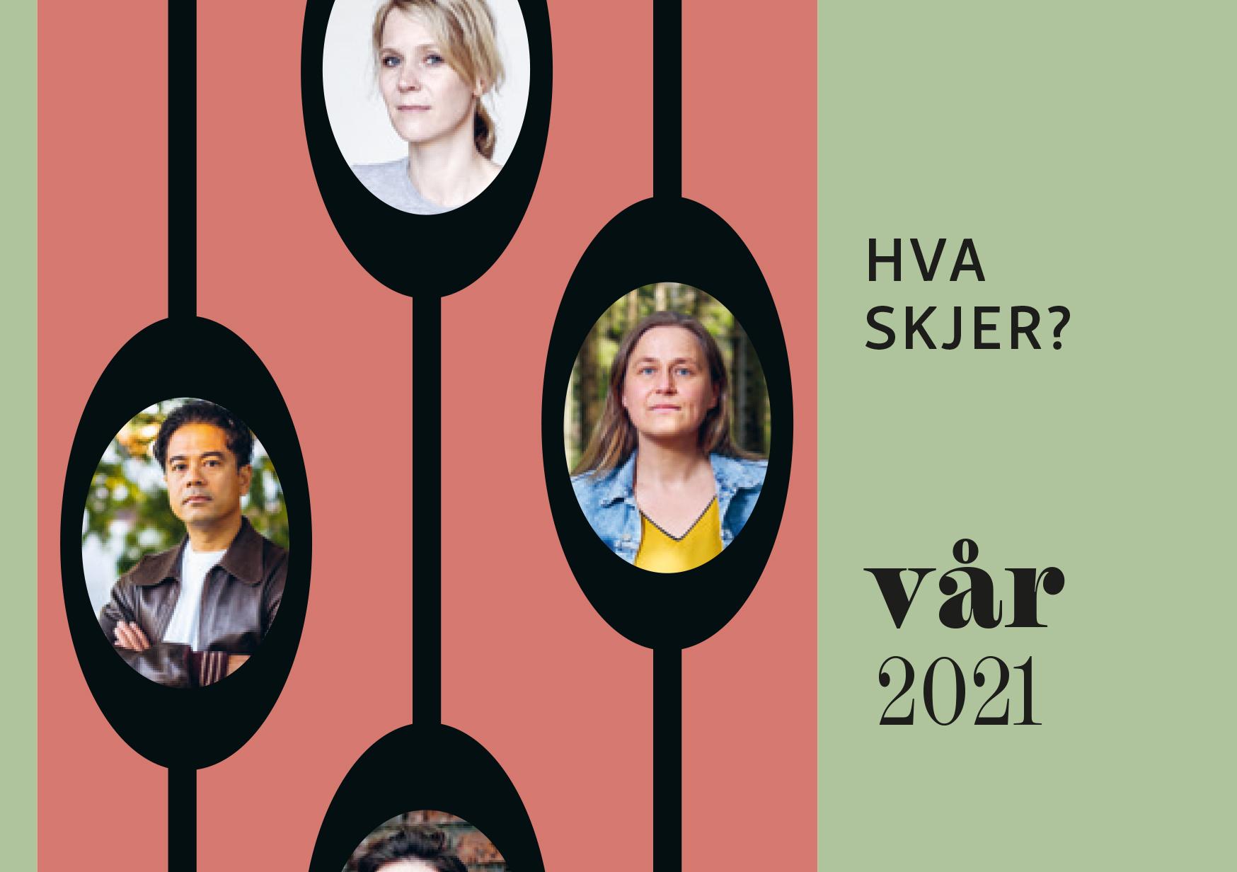 Hva skjer i Bærum bibliotek våren 2021?